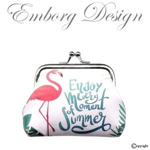 Møntpung - Flamingo Accessories - Ting med Flamingoer
