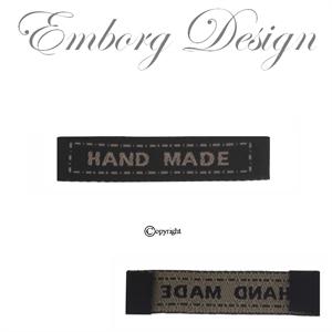 9e18169115a Tøjmærker - Labels til tøj - Made by me mærker - Handmade Stofmærker ...